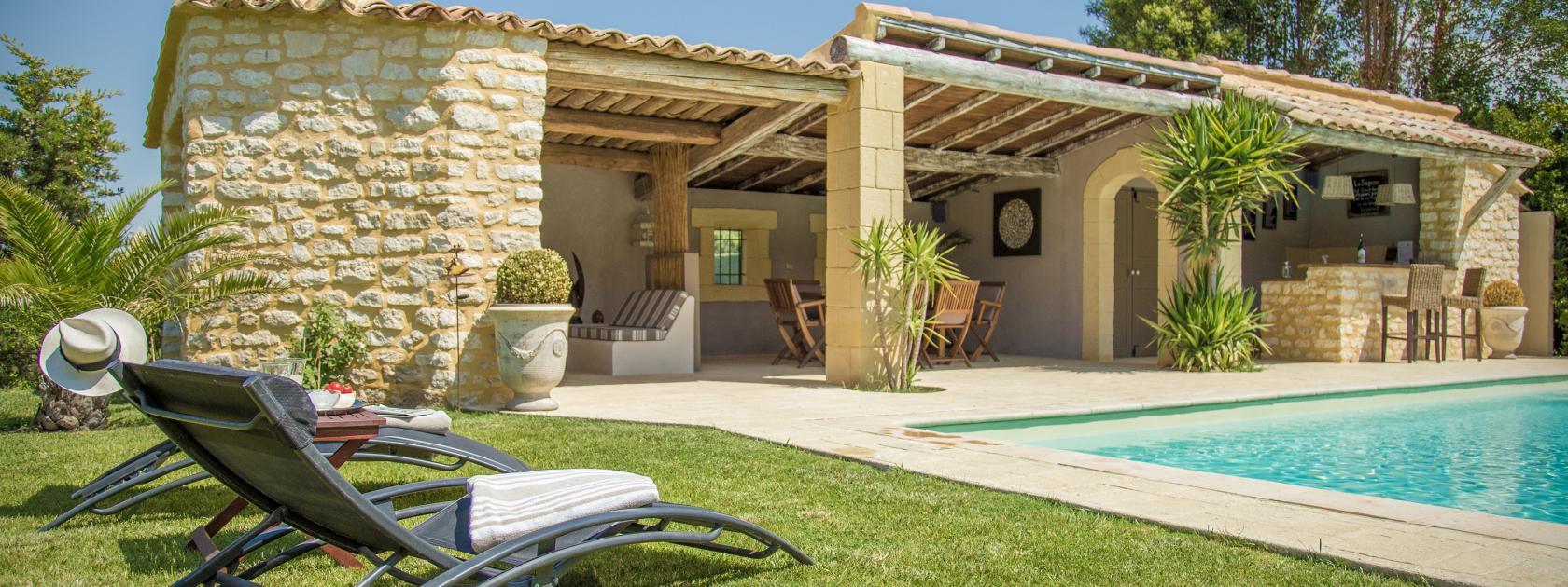 Location vacances maison avec piscine priv e vaucluse Gite de france vaucluse avec piscine